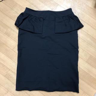 マークバイマークジェイコブス(MARC BY MARC JACOBS)のマークバイマークジェイコブス☆ペプラムスカート(ひざ丈スカート)