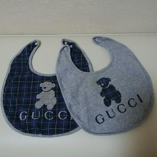 グッチ(Gucci)のGUCCI スタイ 2枚(ベビースタイ/よだれかけ)