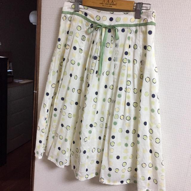 ベルメゾン(ベルメゾン)のベルメゾン  爽やかスカート レディースのスカート(ひざ丈スカート)の商品写真