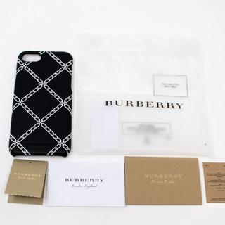 バーバリー(BURBERRY)の新品 BURBERRY iPhone 8 レザーカバー (iPhoneケース)