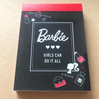 バービー(Barbie)の【新品 送料込】Barbie バービー メモ帳 ミニメモ(ノート/メモ帳/ふせん)