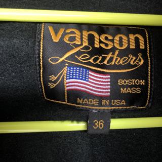 バンソン(VANSON)のUSA製 メンズvanson 本革セット  36000から値引き28000(レザージャケット)