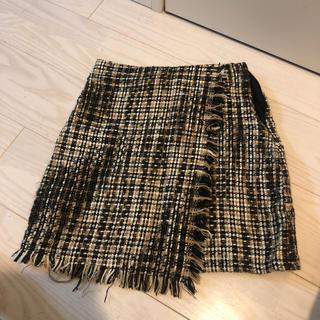 スカート ツイード(ミニスカート)