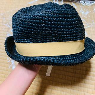 サマンサモスモス(SM2)のSamansa Mos2 麦わら帽子  52㎝(帽子)