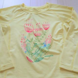 パタゴニア(patagonia)のpatagonia パタゴニア ラッシュガード 長袖 4才(水着)
