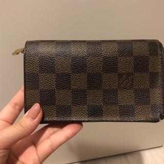 ルイヴィトン(LOUIS VUITTON)のヴィトン 三つ折り財布(財布)