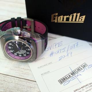 ゴリラ(gorilla)の★本物・新品・完売品・77本限定・希少★ゴリラウォッチ SVIPE(腕時計(アナログ))