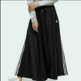 アディダス(adidas)の最終値下げアディダスロングスカート(L)(ロングスカート)