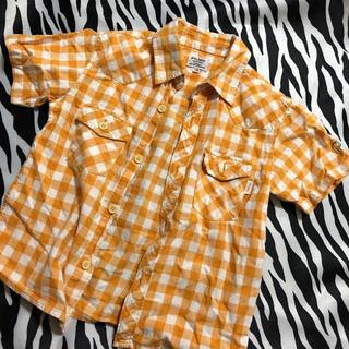 ミキハウス(mikihouse)のミキハウス チェック 半袖シャツ(Tシャツ/カットソー)
