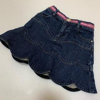 ジルスチュアート(JILLSTUART)のジルスチュアート デニム スカート 90 前ホック 美品(スカート)