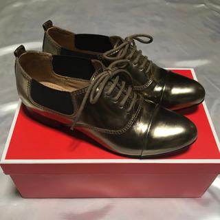 コーチ(COACH)の【美品】COACH コーチ 靴 36M(ローファー/革靴)