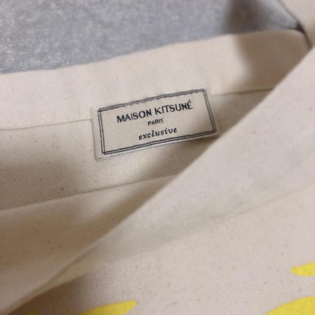 MAISON KITSUNE'(メゾンキツネ)のメゾンキツネ トートバッグ メンズのバッグ(トートバッグ)の商品写真