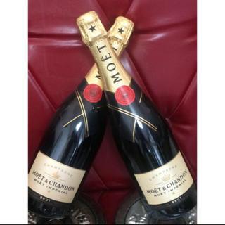 モエエシャンドン(MOËT & CHANDON)のモエシャン750m ✖︎2(シャンパン/スパークリングワイン)