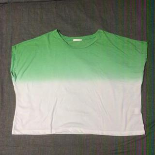 ジーユー(GU)のグラデT(Tシャツ(半袖/袖なし))