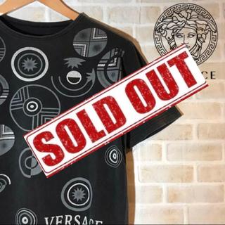 ヴェルサーチ(VERSACE)の【激レア】VERSACE ヴェルサーチ 総柄 Tシャツ(Tシャツ/カットソー(半袖/袖なし))