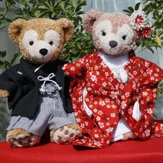 ダッフィー(ダッフィー)のダッフィー&シェリーメイのウェディング衣装 羽織袴と色打掛(その他)