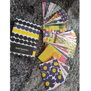 マリメッコ(marimekko)のmarimekkoポストカード100枚set 最終値下 8月26日まで(その他)