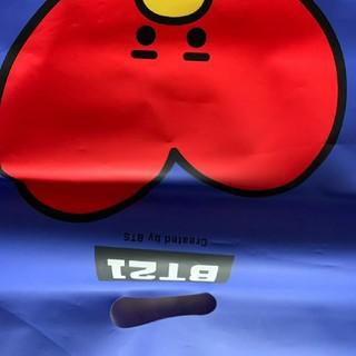 ボウダンショウネンダン(防弾少年団(BTS))のショッピング袋(ショップ袋)