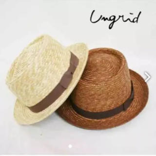 Ungrid - ☆最終値下げ☆ungrid☆カンカン帽☆