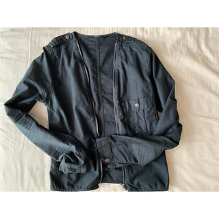 エディション(Edition)のEdition ブラックジャケット(ノーカラージャケット)