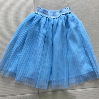 ジーユー(GU)のチュールスカート 110(スカート)