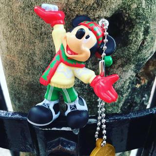 ディズニー(Disney)のミッキーのチャーム クリスマスガチャ ディズニーランド(チャーム)