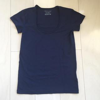 セオリーリュクス(Theory luxe)のセオリー  Tシャツ  ネイビー(Tシャツ(半袖/袖なし))