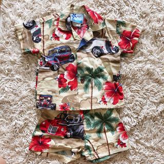 ロンハーマン(Ron Herman)のRJC ベビー アロハシャツ Hawaii セットアップ(Tシャツ)