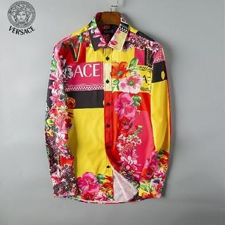 ヴェルサーチ(VERSACE)のVersace ヴェルサーチ メンズ 長袖Tシャツ  美品 カジュアル(Tシャツ/カットソー(七分/長袖))