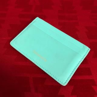 ティファニー(Tiffany & Co.)のTIFFANY ティファニー カード入れ 正規品(名刺入れ/定期入れ)