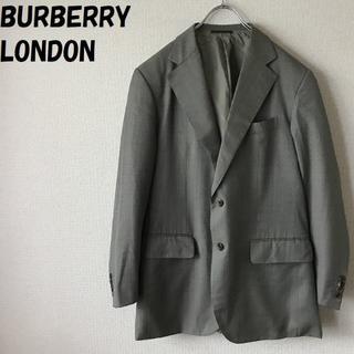 バーバリー(BURBERRY)の【人気】バーバリーロンドン シルク混テーラードジャケット サイズ170 三陽商会(テーラードジャケット)