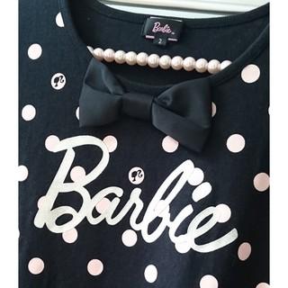 バービー(Barbie)の処分前・再値下げ♥バービーキッズ ♥ ドット チュニック(Tシャツ/カットソー)