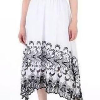 ティアラ(tiara)の【Tiara】ロングフレアースカート(ロングスカート)