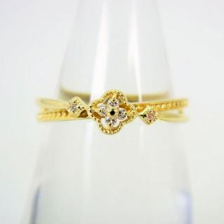 K18 ダイヤモンド リング 10.5号[f30-9](リング(指輪))