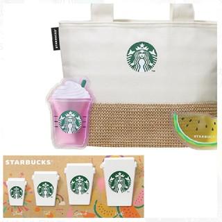 スターバックスコーヒー(Starbucks Coffee)の《オンライン完売品》スターバックス 保冷トート&保冷材・クリップセット(日用品/生活雑貨)