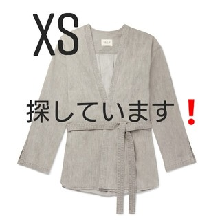 フィアオブゴッド(FEAR OF GOD)のFEAR OF GOD denim god glay kimono (XS)(Gジャン/デニムジャケット)