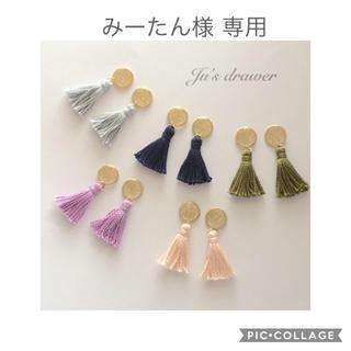 みーたん様 専用ページ(ピアス)
