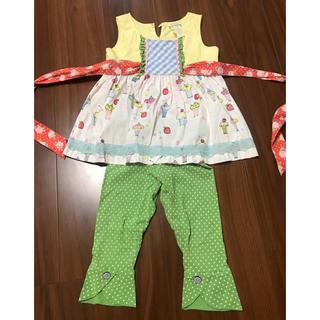 57525f962a2 ジンボリー(GYMBOREE)のMatilda Janeのチュニックドレス サイズ4 used(ワンピース)