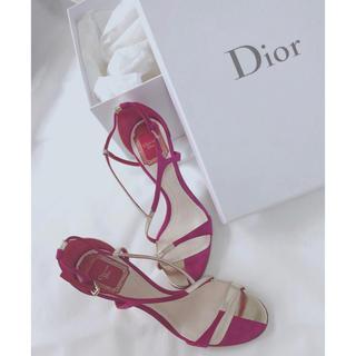 ディオール(Dior)のDior サンダル 22.5(サンダル)
