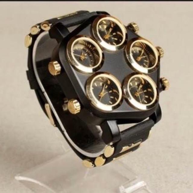 リシャール・ミル時計コピー大特価 、 ☆レア☆ビッグダイヤル 5ダイヤル 海外ブランド メンズ 高級 腕時計の通販 by RIN's shop|ラクマ