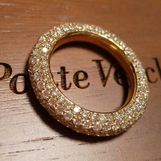 ポンテヴェキオ(PonteVecchio)のEterno エテルノ 総ダイヤモンド フルエタニティリング K18pg(リング(指輪))