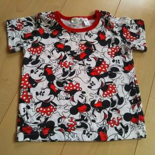 シマムラ(しまむら)のミニーマウス 半袖Tシャツ 90㎝(Tシャツ/カットソー)