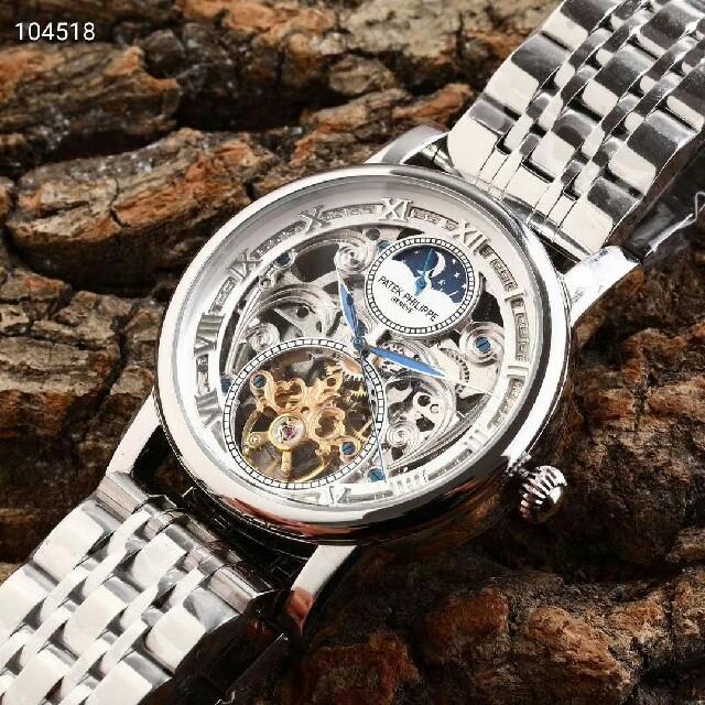 モーリス・ラクロアスーパーコピー激安通販 | PATEK PHILIPPE - PATEK PHILIPPE 腕時計 自動巻 メンズウォッチの通販 by 麻琴's shop|パテックフィリップならラクマ