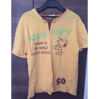 スヌーピー(SNOOPY)のスヌーピープリントTシャツ(Tシャツ(半袖/袖なし))