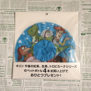 トイストーリー(トイ・ストーリー)の【yuna様 専用】【新品!】浮き輪型ペットボトルホルダー トイ・ストーリー(ノベルティグッズ)