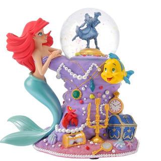 ディズニー(Disney)のリトル・マーメイド スノードーム The Little Mermaid 30th(キャラクターグッズ)