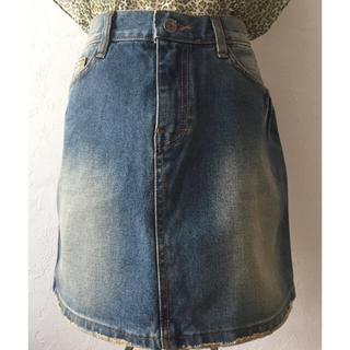 カルバンクライン(Calvin Klein)のCalvin Klein Jeans カルバンクライン デニムスカート 28(ミニスカート)