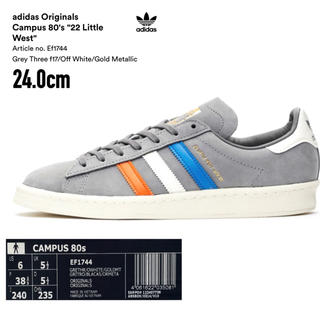 アディダス(adidas)の*限定SALE*【24.0㎝ 新品】adidas/campus 80s(スニーカー)