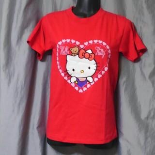 ハローキティ(ハローキティ)のUSA ハローキティ Tシャツ 7 未使用品 デッドストック 90s (Tシャツ(半袖/袖なし))