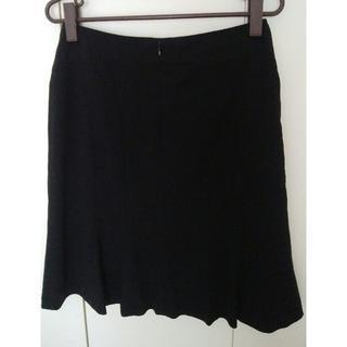ベルメゾン(ベルメゾン)のひざ丈フレアスカート【もも張りさん向け】(ひざ丈スカート)
